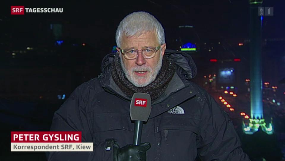 Peter Gysling: «Protest ist noch nicht zu Ende.»