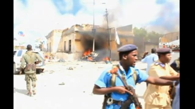 Bilder des Anschlagsortes. (unkommentiert)