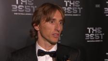 Link öffnet eine Lightbox. Video Modric: «Besonderer Moment in meiner Karriere.» abspielen