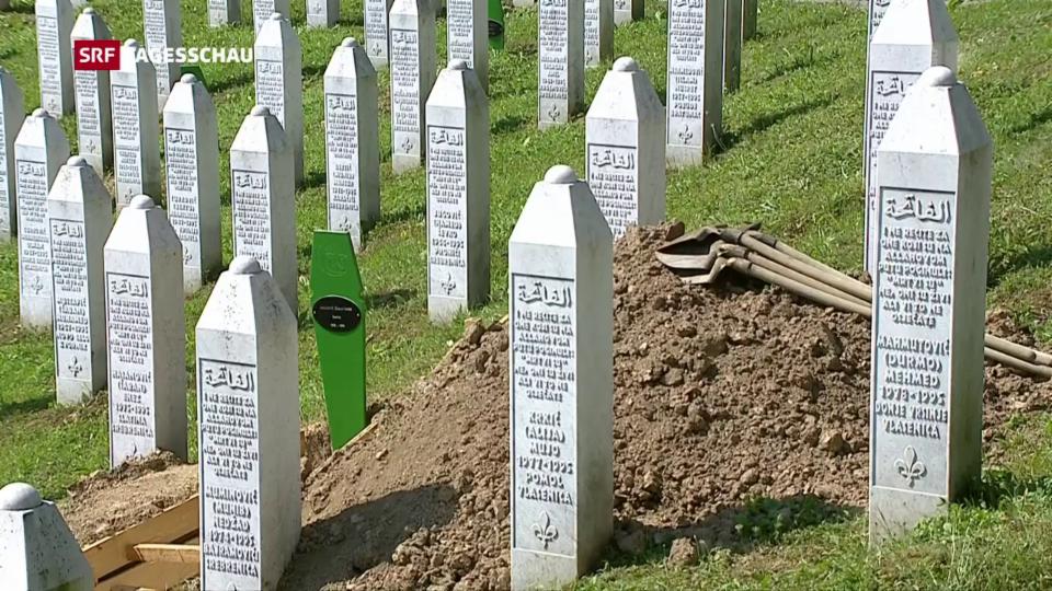 Aus dem Archiv: Srebrenica gedenkt des Völkermordes