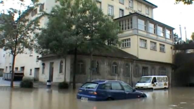 Hochwasserschutz an der Aare