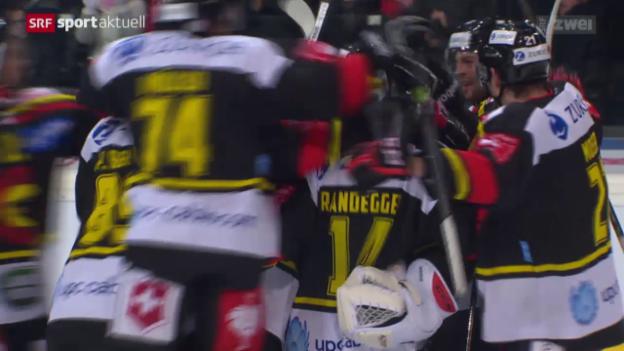 Video «Eishockey: Cup, Bern - ZSC Lions» abspielen