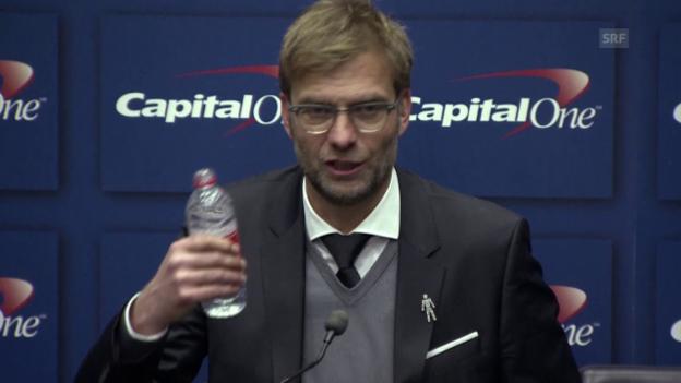 Video «Liverpool-Coach Klopp fühlt sich wie «Müll»» abspielen