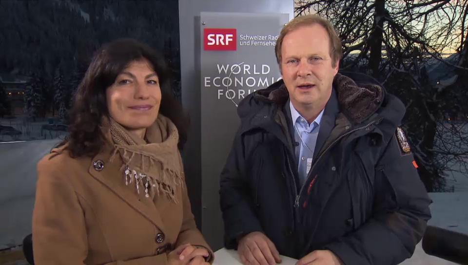 Was Sie am Mittwoch in Radio & TV aus Davos erwartet