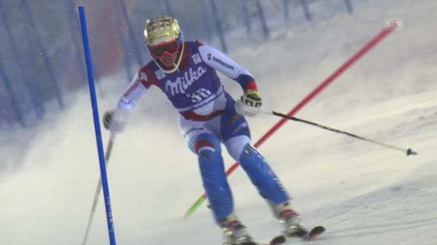 Video «Ski: Der 2. Lauf von Michelle Gisin in Levi» abspielen