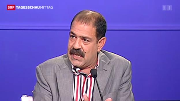 Video «Tunesischer Oppositionspolitiker erschossen» abspielen