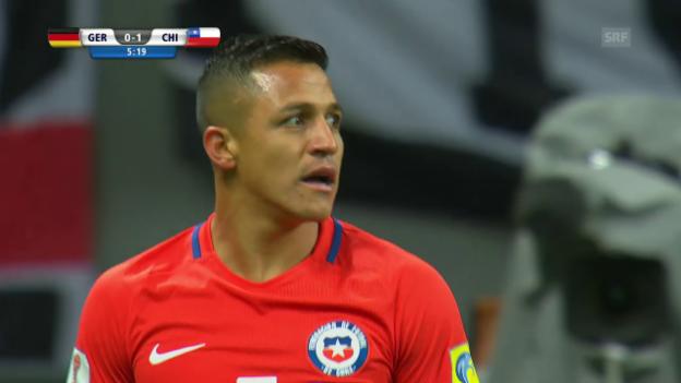 Video «Live-Highlights Deutschland - Chile» abspielen