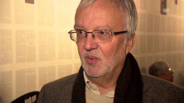 Video «Sigfried Schibli, Musikjournalist» abspielen