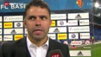 Video «Fussball: Super League, Gespräch mit YB-Trainer Uli Forte» abspielen