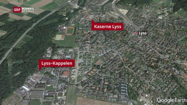 Video «Heftiger Protest aus Lyss und Kappelen (BE)» abspielen