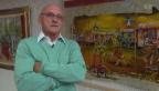 Video «Nimmermüde: Rolf Knie präsentiert neue Kunstwerke» abspielen