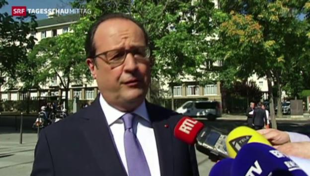 Video «Reaktion der Euro-Gruppe» abspielen