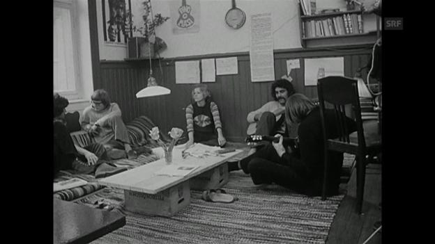 Video «Erfahrungen mit der Kommune (Antenne, 16.5.1972)» abspielen