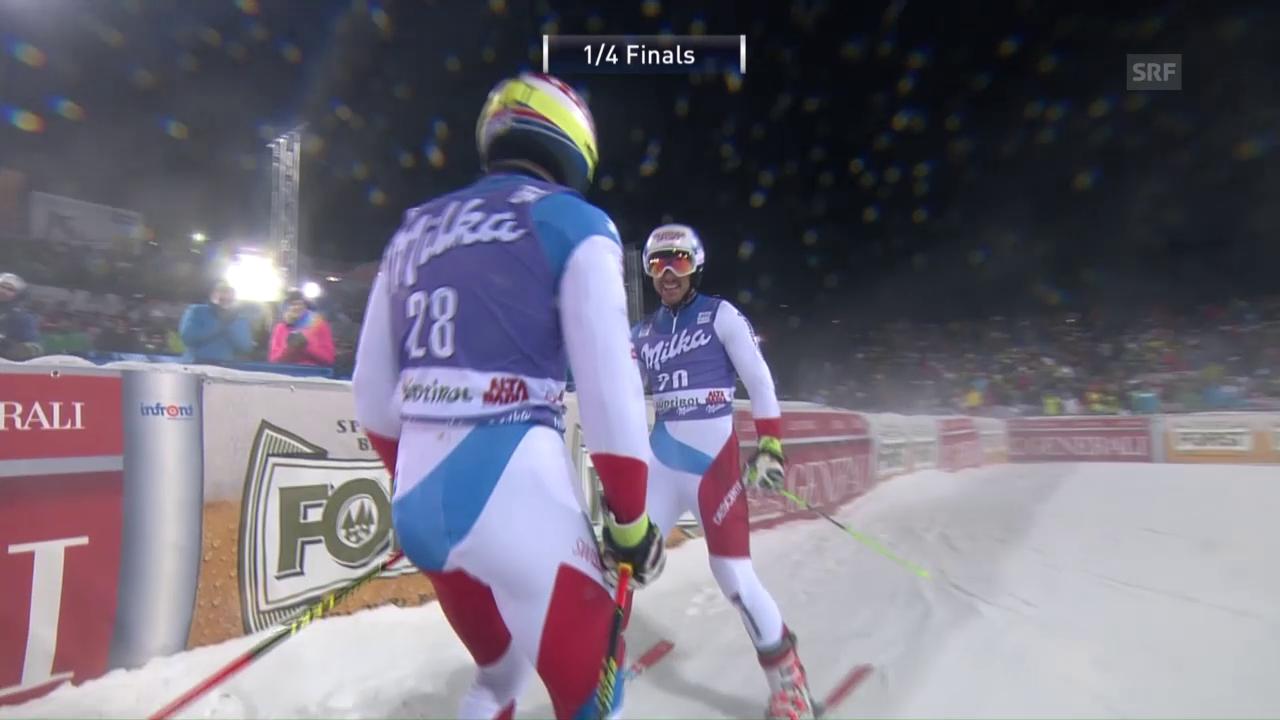 Janka gewinnt den Schweizer Viertelfinal gegen Caviezel