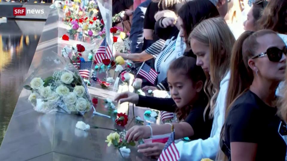 20. Jahrestag der Terror- Anschläge