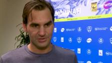 Link öffnet eine Lightbox. Video Federer: «Brauche eine Leistungssteigerung» abspielen