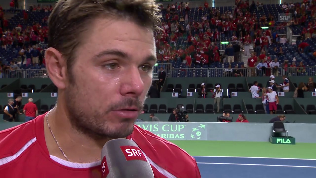 Tennis: Interview Wawrinka
