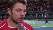 Video «Tennis: Interview Wawrinka» abspielen