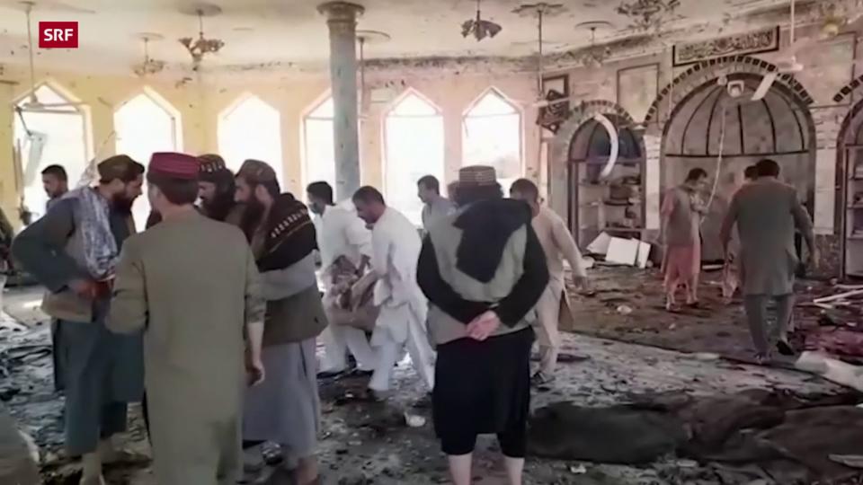Detonation in einer Moschee der schiitischen Minderheit in der Provinz Kundus