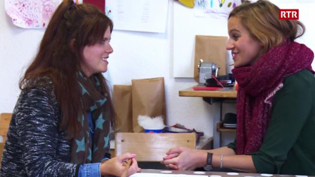 Laschar ir video «Claudia e Tamara – in team dapi mupi!»