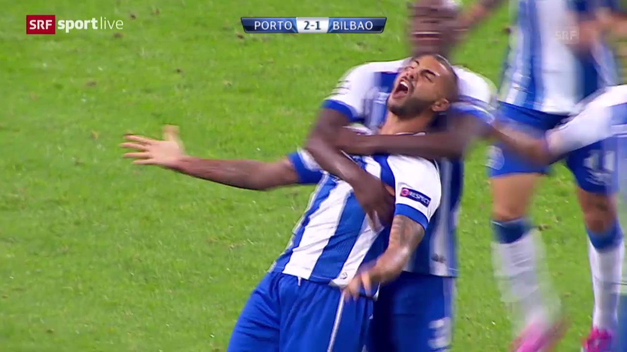 Fussball: Champions-League, FC Porto - Athletico Bilbao