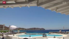Video «Tourismus im griechischen Ferienparadies» abspielen