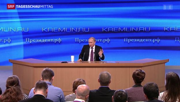 Video «Putin über die Ukraine-Krise» abspielen