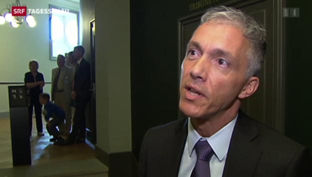 Video «Bundesanwalt Michael Lauber vor der Wiederwahl» abspielen