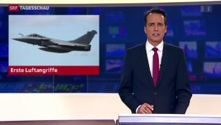 Video «Frankreich fliegt erste Luftangriffe gegen IS-Miliz im Irak» abspielen