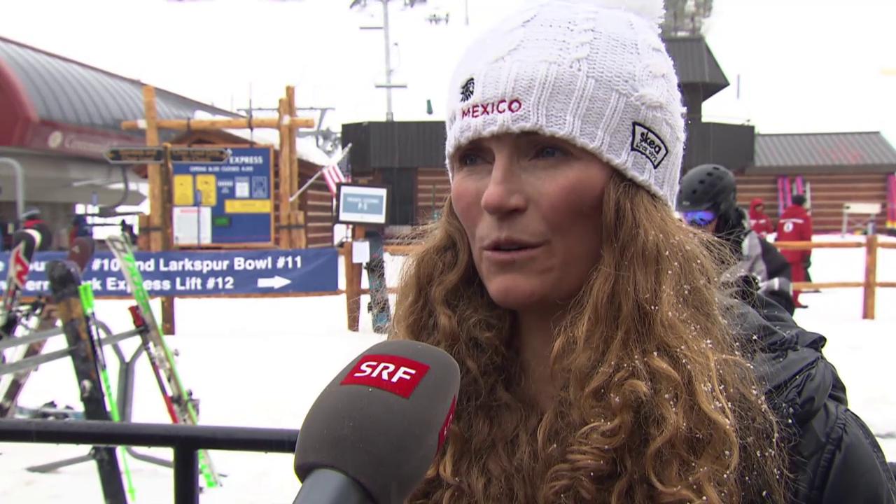 Ski alpin: WM in Vail/Beaver Creek, Sarah Schleper über ihre Ziele an der WM