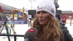 Video «Ski alpin: WM in Vail/Beaver Creek, Sarah Schleper über ihre Ziele an der WM» abspielen