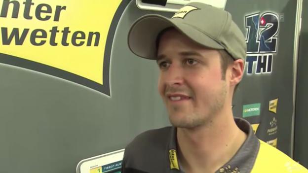 Video «Motorrad: GP Australien, Qualifying, Interview mit Lüthi & Aegerter» abspielen