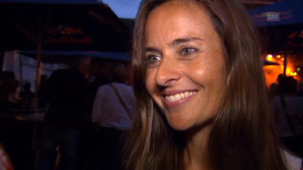 Video «Sandra Studer über Seven» abspielen