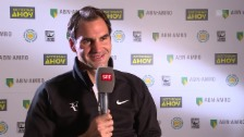 Link öffnet eine Lightbox. Video Federer: «Die Leute hätten gedacht: ‹Bist du gaga?›» abspielen