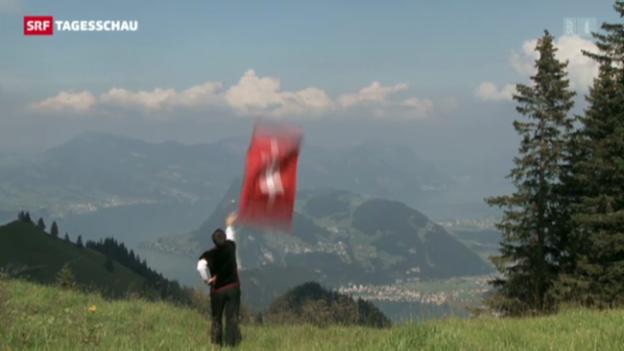 Video «Schweiz Tourismus wirbt mit lebendigen Traditionen» abspielen