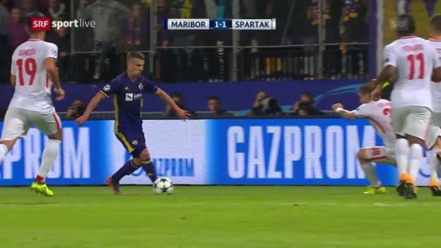 Video «Spätes Glück für Maribor» abspielen