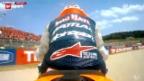 Video «Motorrad: MotoGP-Rennen in Mugello» abspielen