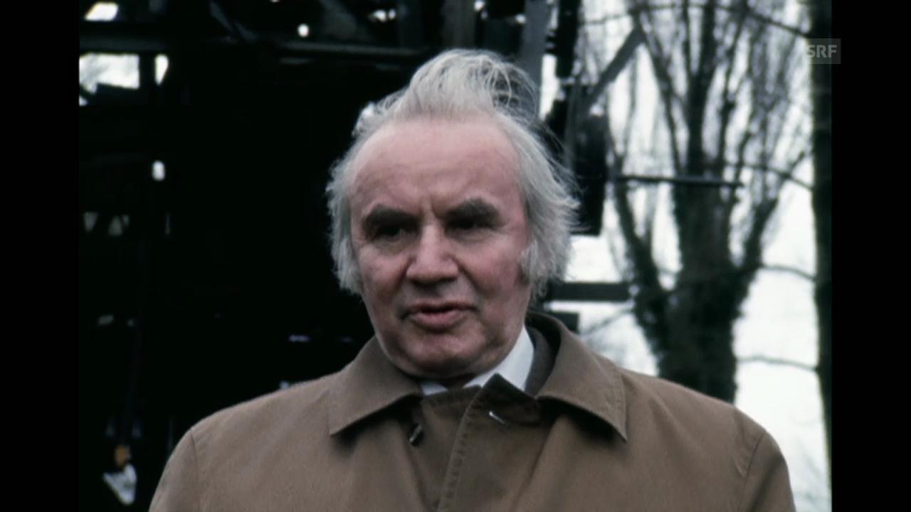 Was ist der «Jahrtausend Mensch»? Robert Jungk am 6.12.1973