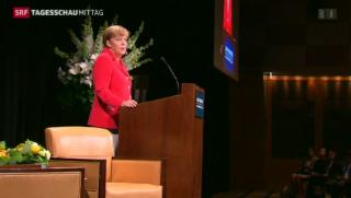 Video «Merkel kritisiert Russland» abspielen