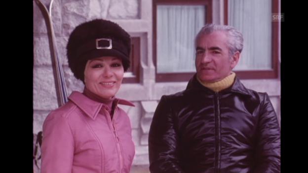 Video ««Der Schah kommt in die Schweiz», Filmwochenschau, 19.3.1971» abspielen