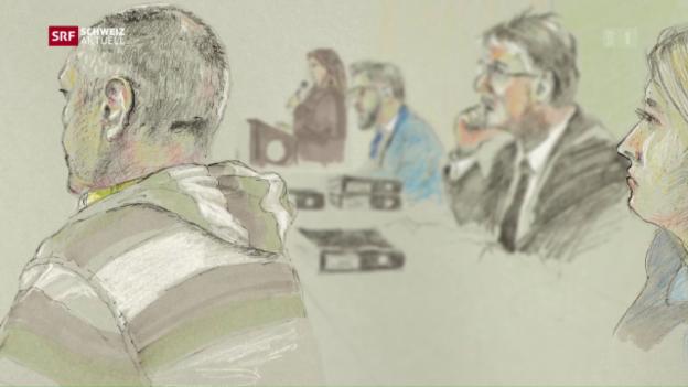 Video «Hartes Urteil für Doppelmord Spiez» abspielen