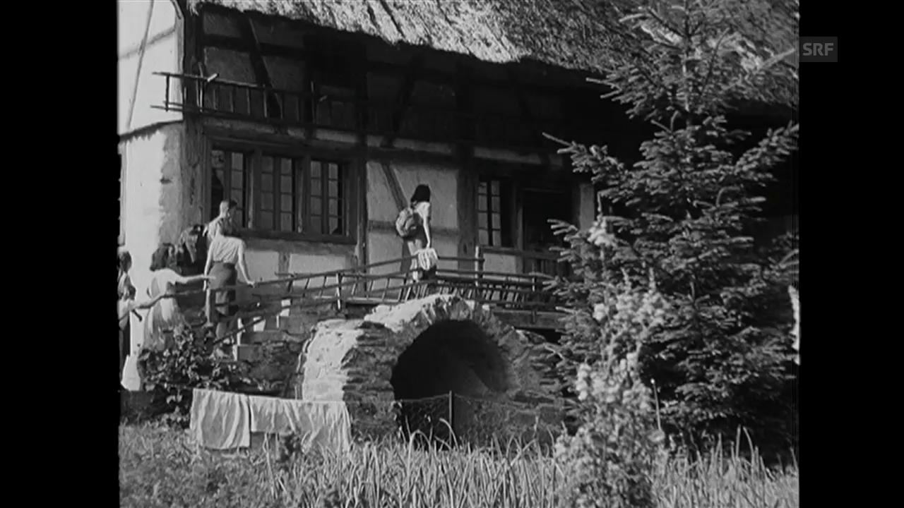 «Freizeit wertvolle Zeit» (Filmwochenschau vom 12.11.43)
