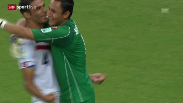 Video «Spielbericht Costa Rica - Griechenland» abspielen