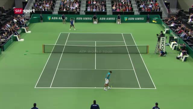 Federer - Benneteau in Rotterdam («sportaktuell»)
