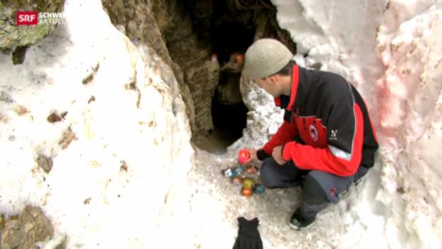 Video «Tödlicher Sturz in Höhle» abspielen