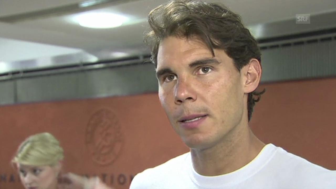 Tennis, French Open: Rafael Nadal (SNTV)