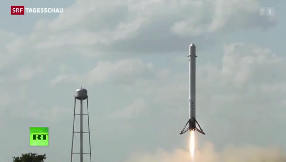 «Space X»: Raketen-Landung misslungen