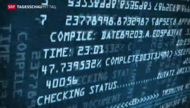 Video «Hacker begehen gigantischen Datendiebstahl» abspielen