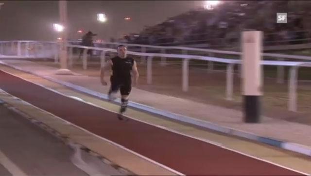 Pistorius gewinnt Rennen gegen Pferd