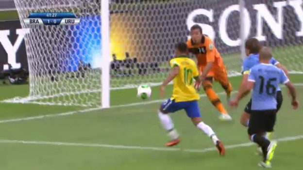 Video «Confed Cup: Highlights Brasilien - Uruguay («sportlive»)» abspielen